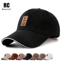 [Rancyword] Hot Sale Cheap Brand Baseball Caps Men Cotton Casual Golf Logo Hats Men Snapback cap Casquette Bone Gorras RC1051