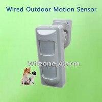 Wired Dual PIR&Microwave Motion Sensor Anti Pet Immunity Outdoor PIR Motion Detector Alarm System for Home Burglar Security