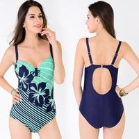 2018 Summer Sexy High Cut Out Swimwear One Piece Bikini Women Bathing Suit green Monokini Swimsuit Summer Swimming Suit