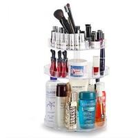 QUBABOBO Acrylic Cosmetic Storage Box Makeup Organizer Tools Brush Container For Women Lipstick Storage Holder Case
