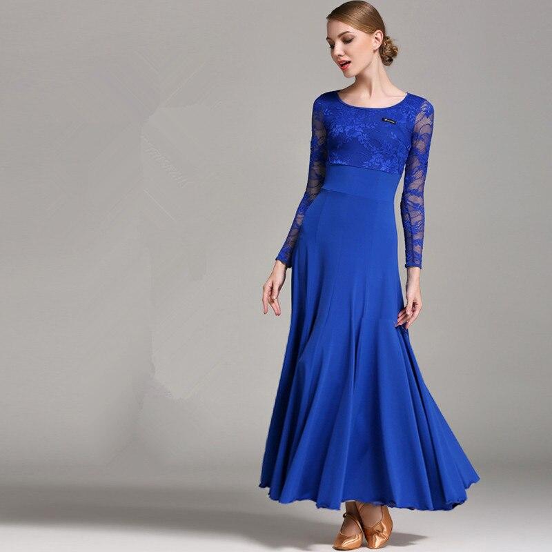 New style national standard ballroom dance skirt high end new modern dance dress dance performance costumes