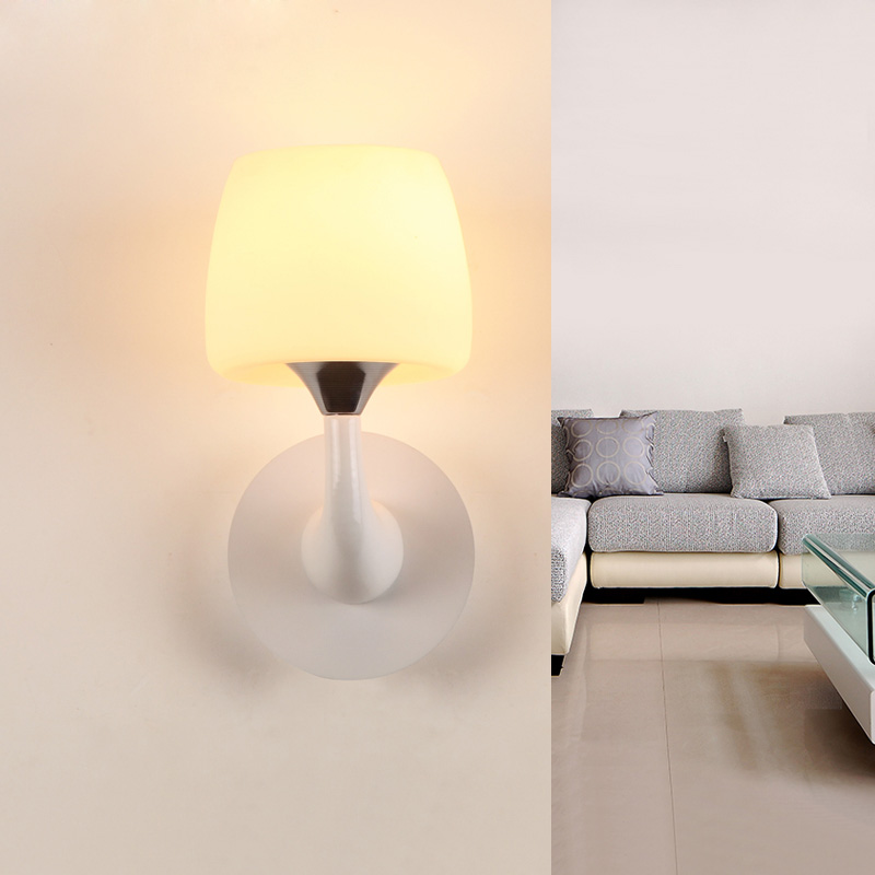 Modern minimalist art wall lamp resin  room bedroom lamp bedside lamps lighting study modern lamp trophy wall lamp wall lamp bed lighting bedside wall lamp