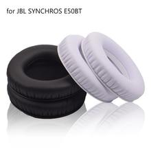 2pcs Replacement Ear Pads Foam Earpads Pillow Cushions Cover Cups Repair Parts for JBL E50 BT E50BT WIRELESS Headphones Headset