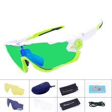 4 lente de la marca new calidad gafas deportivas polarizadas ciclismo gafas de sol gafas de bicicleta de montaña mtb de la bicicleta correr ciclismo gafas