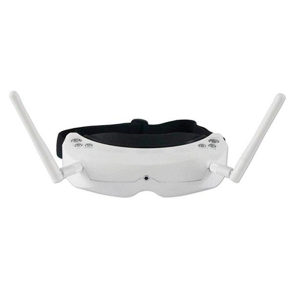 <font><b>Skyzone</b></font> SKY02 FPV Goggles White ( Goggles Only ) <font><b>Skyzone</b></font> <font><b>AIO</b></font> 3D FPV Goggles V3 White Built-in 3D/ 2D mode Built-in head tracking