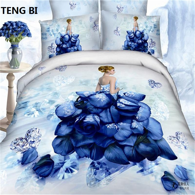 Home textile 100% cotton luxury queen size 3d bedding set /bedclothes /bed set Duvet Cover Bed sheet Pillowcase /Free ShippingHome textile 100% cotton luxury queen size 3d bedding set /bedclothes /bed set Duvet Cover Bed sheet Pillowcase /Free Shipping