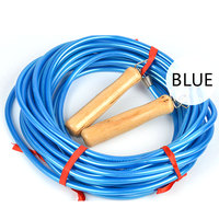 5M High-end PVC Skip Rope Entertainment Exercise Multi-people Jump Rope Fitness Equipment - Blue