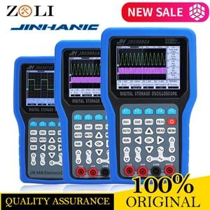 Image 2 - New Handheld Oscilloscope 1/2 Channels 250/500 MSa/s 50/70/80MHz 8bits Oscilloscope JDS3072E Jinhan JDS3082A JDS3051A