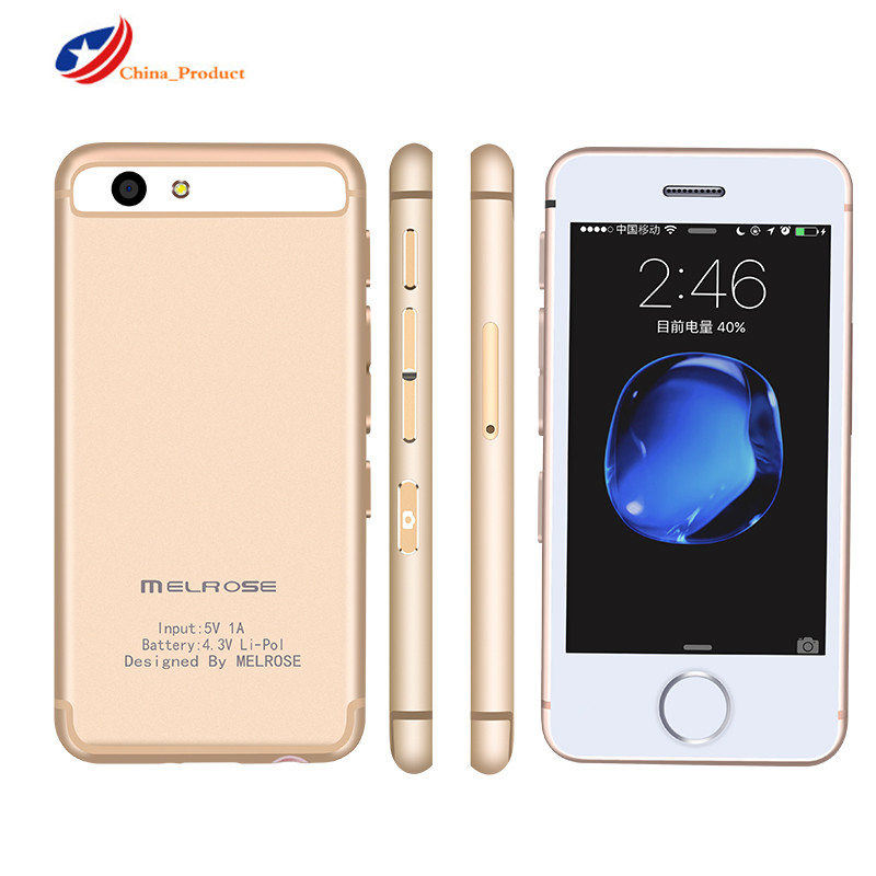Fast Delivery! MELROSE S9 Plus Free Case 16GB 2.5'' Androrid 6.0 Bluetooth WiFi 4G LTE Pocket Stundents SmartPhone PK SOYES 7S