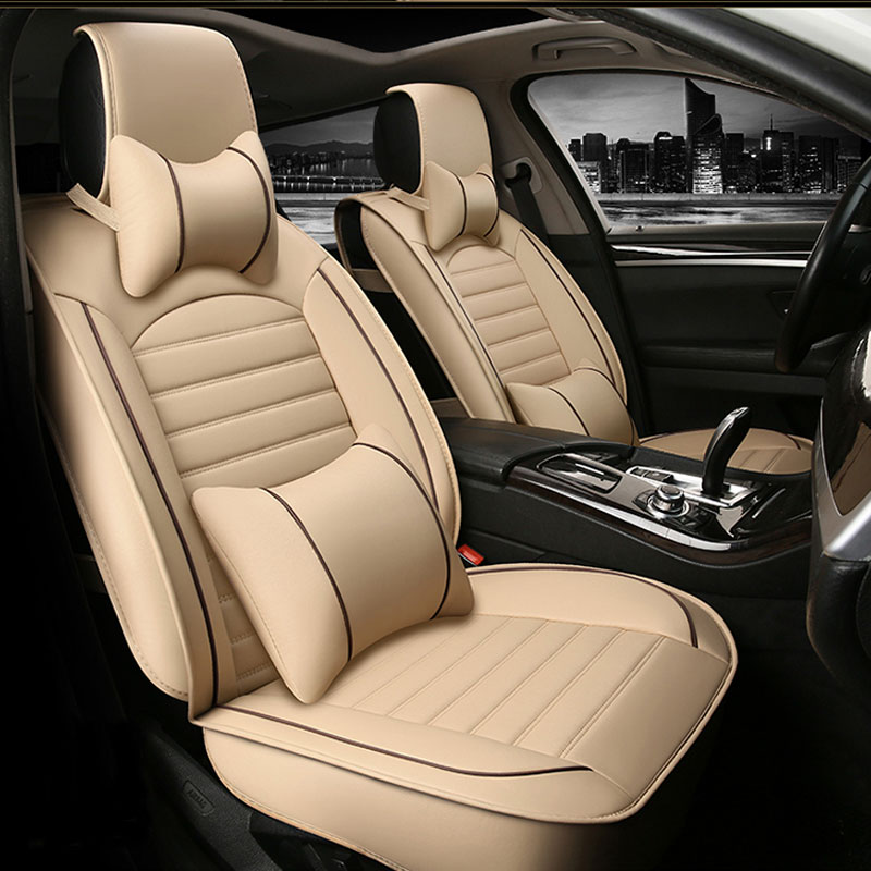 car seat cover auto seats covers leather for Jeep grand cherokee compass commander renegade wrangler 2009 2008 2007 2006