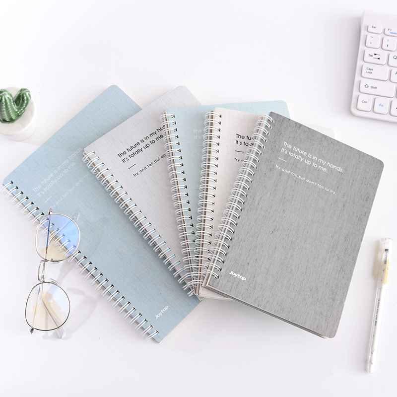 Mirui Rollover coil notebook stationery A5/B5 thickening note week plan office study week schedule diary mirui small fresh loose leaf notebook korea simple b5 coil detachable refill student notebook a5 book a4
