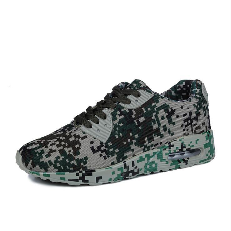 2017 камуфляж кроссовки Для мужчин легкий вес сетки материал спортивная обувь Для мужчин EUR Размер 40-44 Бесплатная доставка