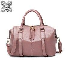 Fung mo Ni прилив женская сумка и Новинка весна-лето винтажные Бостон мешок подушку пакет переносной сумка прилив