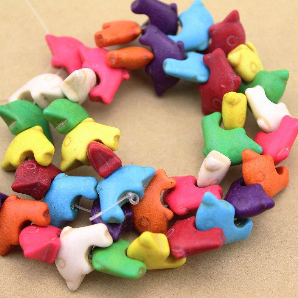 Craft beads in bulk - Approx 43pcs Pack 1 6cm 1 2cm 0 6cm Animal Lovely Dolphin