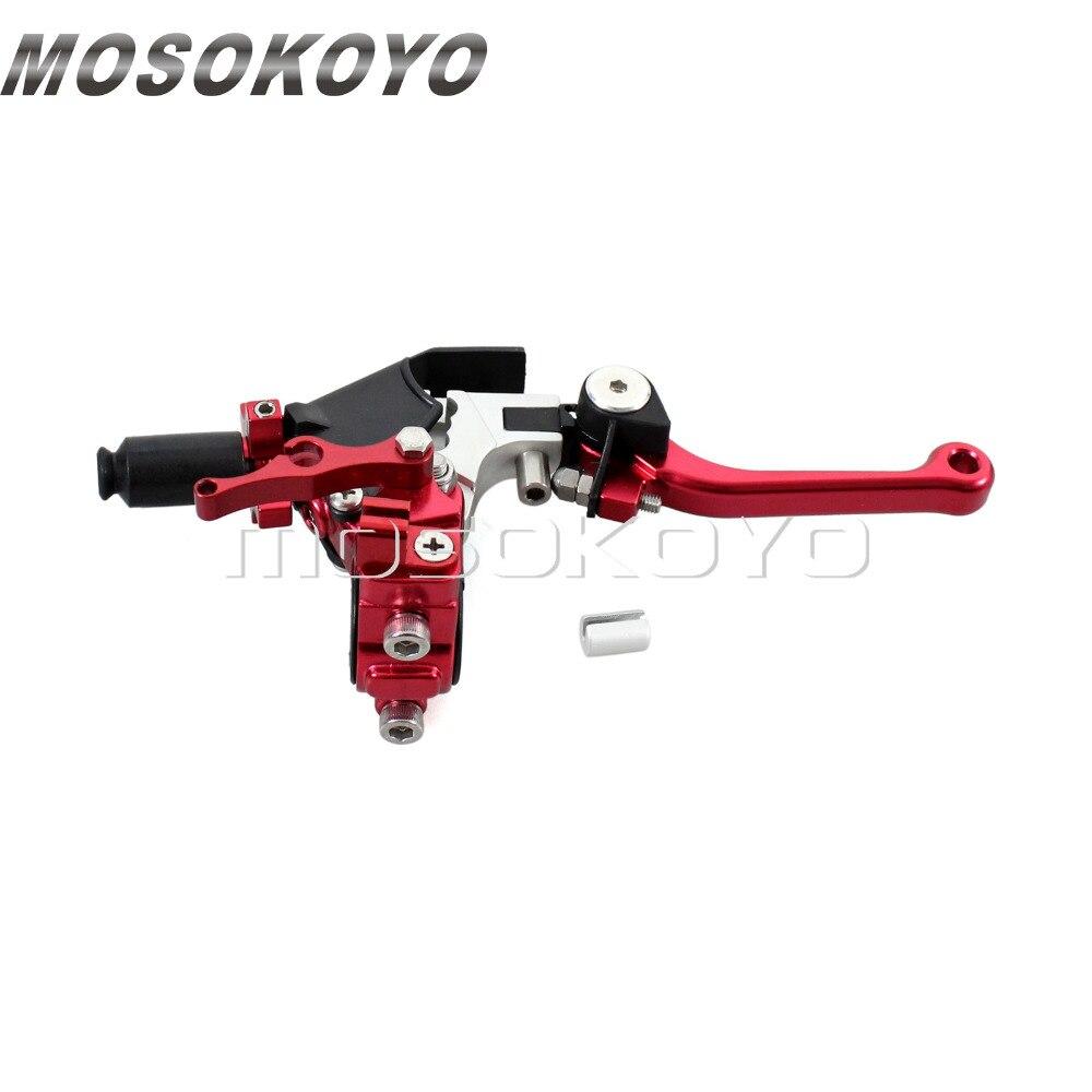 Motorcycle Racing Dirt Bike 22mm 7 8 Handlebar Clutch Lever Adjustable for Honda CR CRF XR