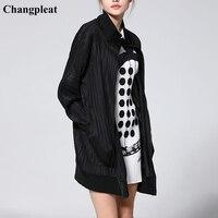 Changpleat Новинка весны 2019 года женский основной куртка пальто для будущих мам miяк плиссированные модные дизайн свободные большой размеры на м