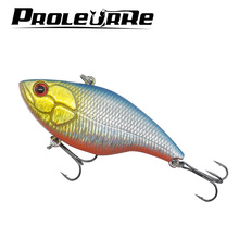 1Pcs 7cm 18g Fishing Lure Winter Fishing Hard Bait VIB with Lead Inside Ice Sea Fishing Tackle Fly Fishing Wobbler Lure YR-362