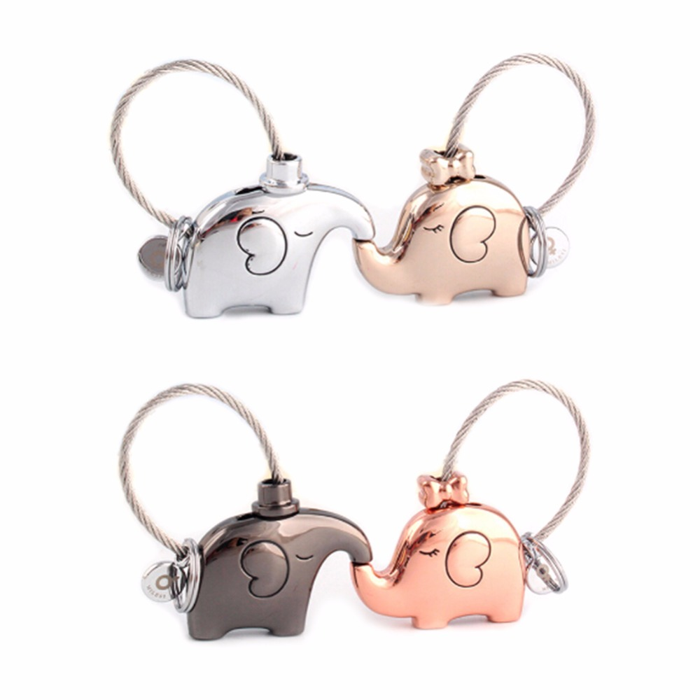8a47c9e4f83ccf Elephant Creative Simulation Key Chain Key Ring Hammer Keychain Mini  Imitation Tools Accessories Gift Hot Sale-in Key Chains from Jewelry    Accessories on ...