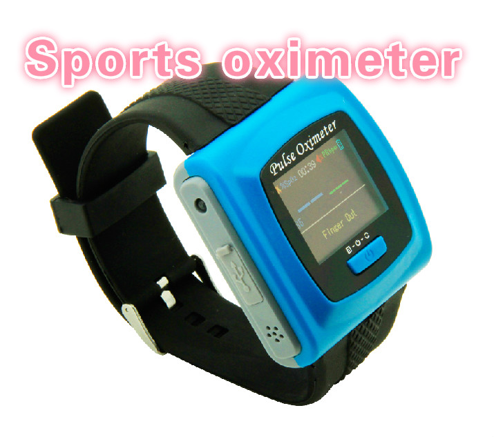 Contec Wrist pulse oximeter Fingertip Color OLED Display SpO2 Probe+ Bluetooth+ Software,CMS50F Blood Pressure Monitor oximeters