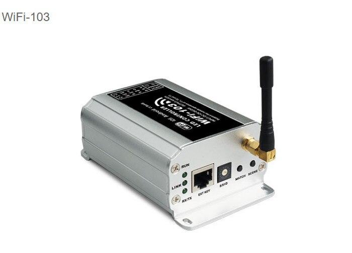 New LTECH WiFi-103 LED wifi controller 2.4GHz Wi-Fi DC12-24V 4A x3CH Max 12A output RGB controller 32 modes Free shipping dmx512 digital display 24ch dmx address controller dc5v 24v each ch max 3a 8 groups rgb controller
