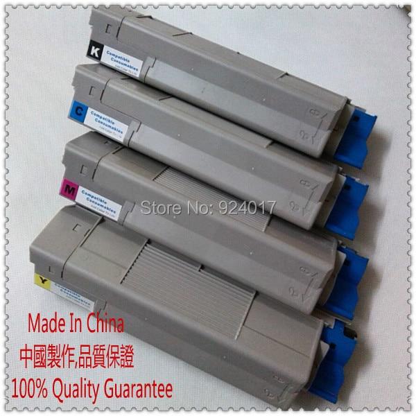 Compatible Oki C9600 C9800 C9650 C9850 9600 9800 Toner Cartridge,For Okidata 42918904 42918903 42918902 42918901 Toner Cartridge 4 pack high quality toner cartridge for oki c9850 c9850hdn c9850n c9850dn color compatible 42918904 42918903 42918902 42918901