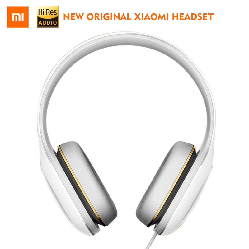 Original Xiaomi Headphones Easy Version with Mic Wired Gaming Headsets 3.5mm HiFi Stereo Earphone  Button Control Big Headphones earfun brand big headphones with mic