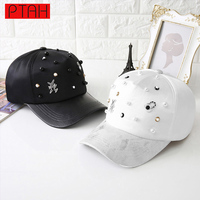 PTAH 2017 Newest Women Hip Hop Snapback Fitted Adjustable Dome Baseball Caps For Ladies Summer Fashion