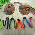 Practical Random Multicolor Light Soft Leash Bird Parrot Adjustable Harness & Leash Anti-bite 120cm