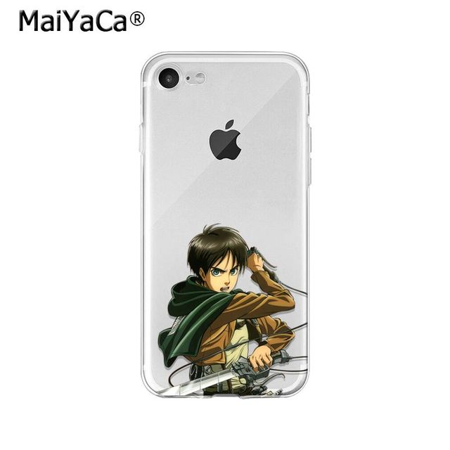 Attack on Titan TPU Soft Case Cover for iPhone