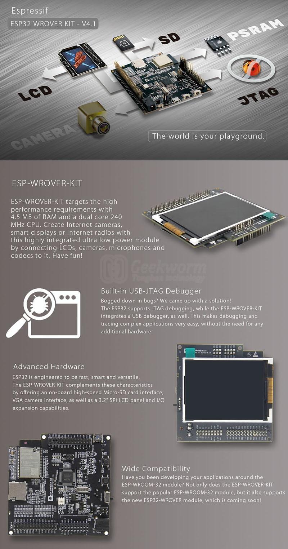 w1000-ESP-WROVER-KIT V4.1-W800
