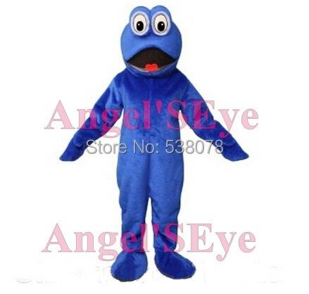 Blue Anchovie Mascot Fish Costume Adult Anime Cosplay Dress Cartoon