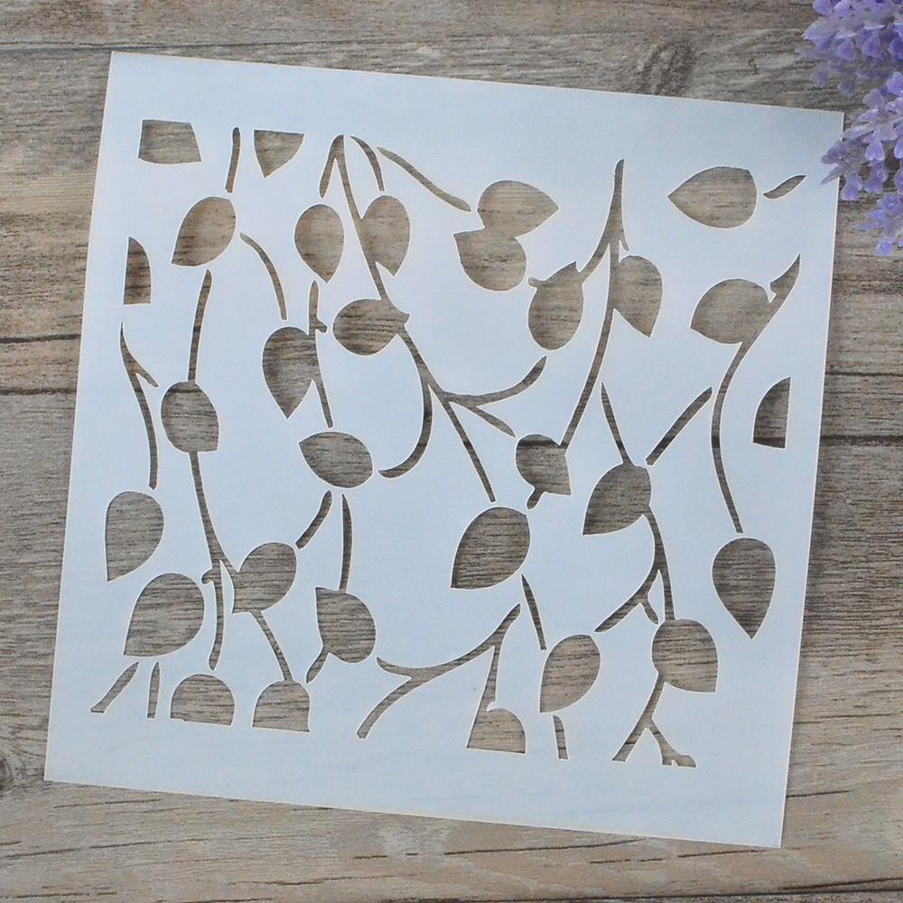 Diy craft estratificaci n stencils para muros pintura - Plantillas de letras para pintar paredes ...