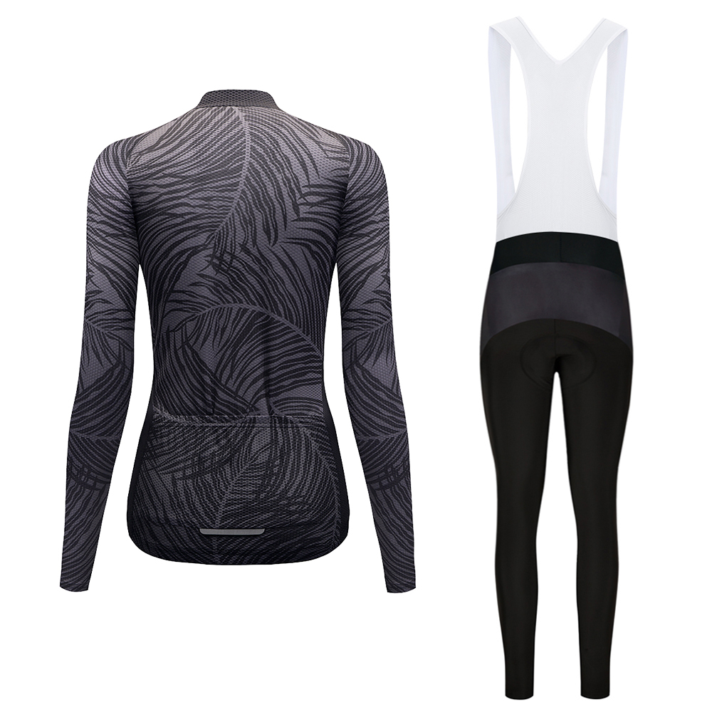 Cycling Set Women Autumn Long Sleeves Cycling Jerseys Gel Pad Pants Ropa Maillot Ciclismo Bicycle Bike Cycling Clothing