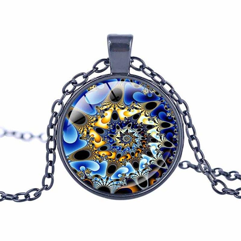 Fibonacci spiral necklace sacred geometry pendant fibonacci fibonacci spiral necklace sacred geometry pendant fibonacci jewelry fractal jewelry spiral necklace mandala necklace in pendant necklaces from jewelry aloadofball Gallery