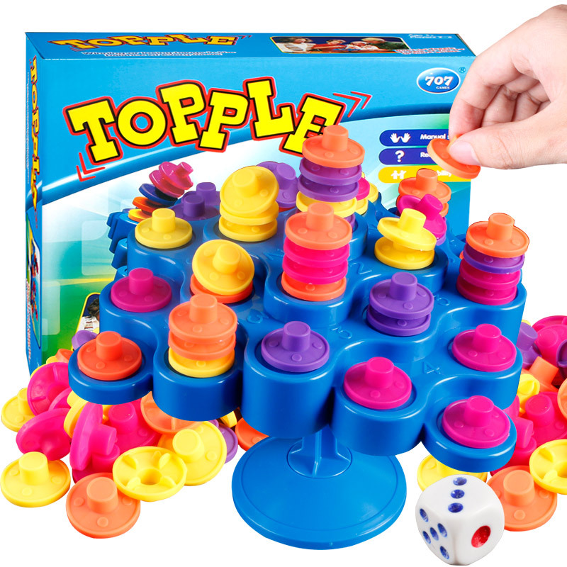 Topple Balance Board Game Don t Let Topple As You Try To Socore Points Funny Multiplayer