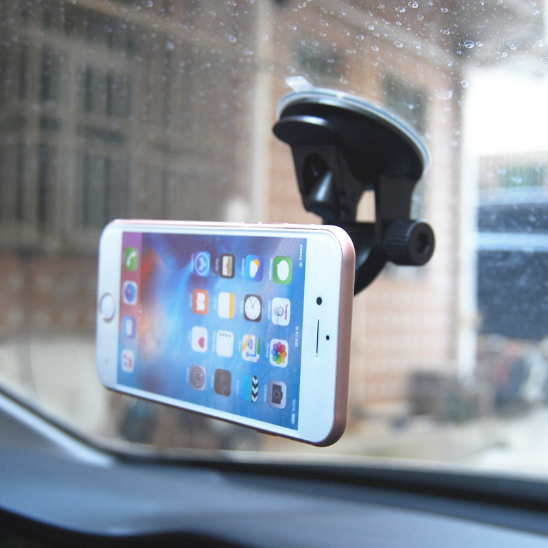 Image 4 - Adjustable Magnetic Car Holder Magnet Car Phone Holder 360 Rotatable Stand Mount Support Universal Windshield Holder free hand-in Phone Holders & Stands from Cellphones & Telecommunications