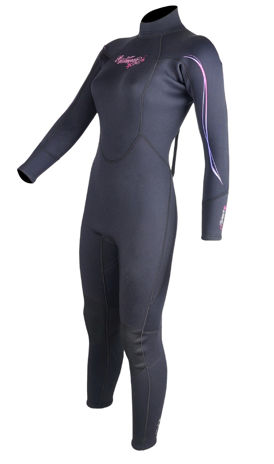 Professional Women Scuba Diving Suit 3mm Neoprene Lycra Clothes Windsurfing Coat Surfing Wetsuit Swimsuit Long Sleeve Rash Guard цена