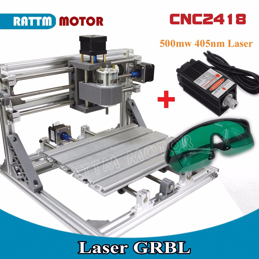 EU Delivery! CNC 2418 GRBL control Diy CNC machine working area 24x18x4.0cm,3 Axis Pcb Pvc Milling machine Carving Engraver,v2.5 disassembled pack mini cnc 2418 pro cnc machine pcb milling machine with grbl control l10005