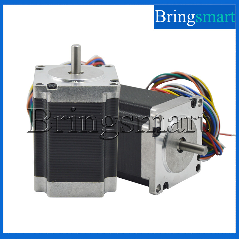 Bringsmart 57 Eight-lane Two-Phase Stepper Motor With  High Torque DC motor Low Speed Motor Drive high quality 5pcs lot 1m dupont line two phase hx2 54 4pin to 6pin terminal motor connector cables for 42 stepper motor