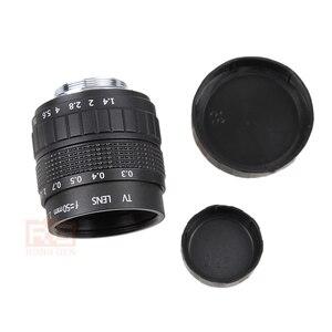 Image 5 - Фуцзянь 50 мм F1.4 CCTV TV Movie lens + C NEX Mount для SONY E Mount NEX3 NEX6 NEX7 A6500 A6300 A6000 A5000
