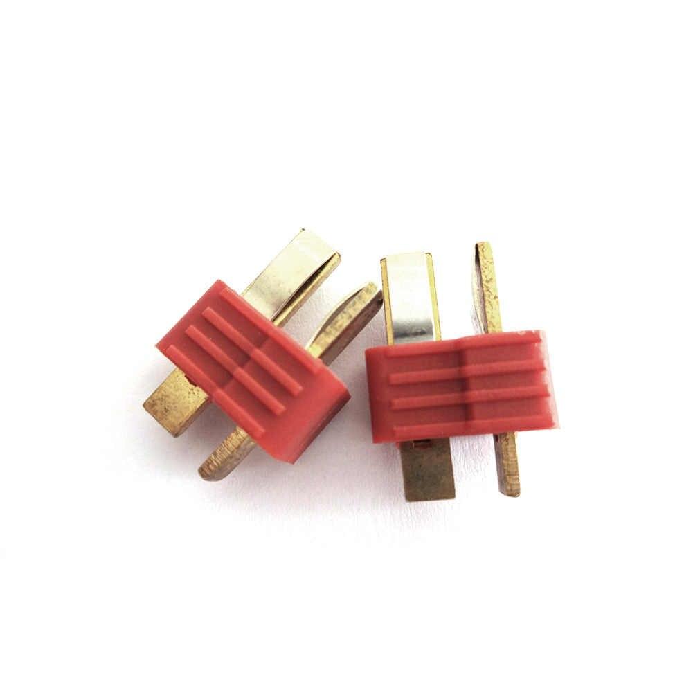 T Plug Male & Female Connectors Voor Batterij en ESC Connection Voor RC Modelvliegtuigen LiPo Batterij