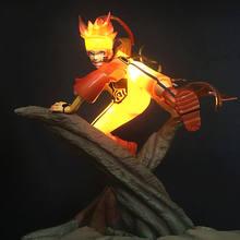 Naruto Celestial Nine Tails Mode Led Light Toy