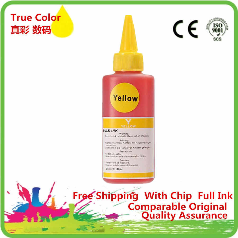 PGI-425BK Especializada Dye Ink Para CISS Cartucho recarregável Para Canon PIXMA IP4840 IX6540 MG5140 MG5240 MX884 Impressora