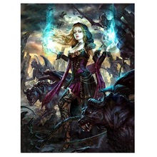 Angel Devils Diy Diamond Painting Cross Stitch 5d Full Drill painting puzzle Mosaic Embroidery