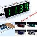 LEVOU DIY SCM treinamento eletrônico relógio 4 cores (opcional) suíte produção DIY relógio relógio Digital relógio de cronometragem voz partes
