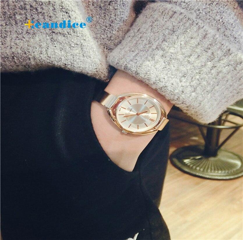 Milky women watch Fashionable Fine Temperament Bracelet Watch Big Dial Ladies Watch Reloj Mujer April17 milky chance paris