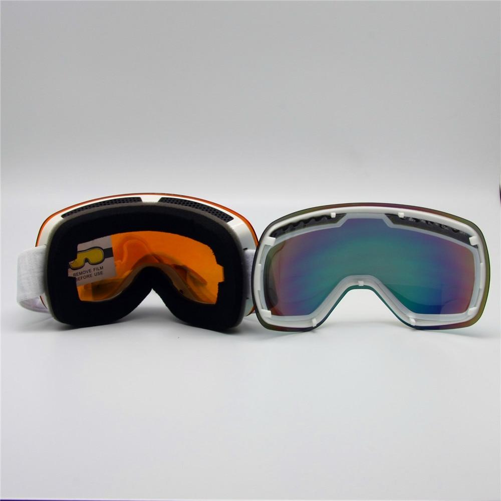 Günəşli və Buludlu Gün Lensi ilə Kayak - Xizək və snoubord - Fotoqrafiya 5