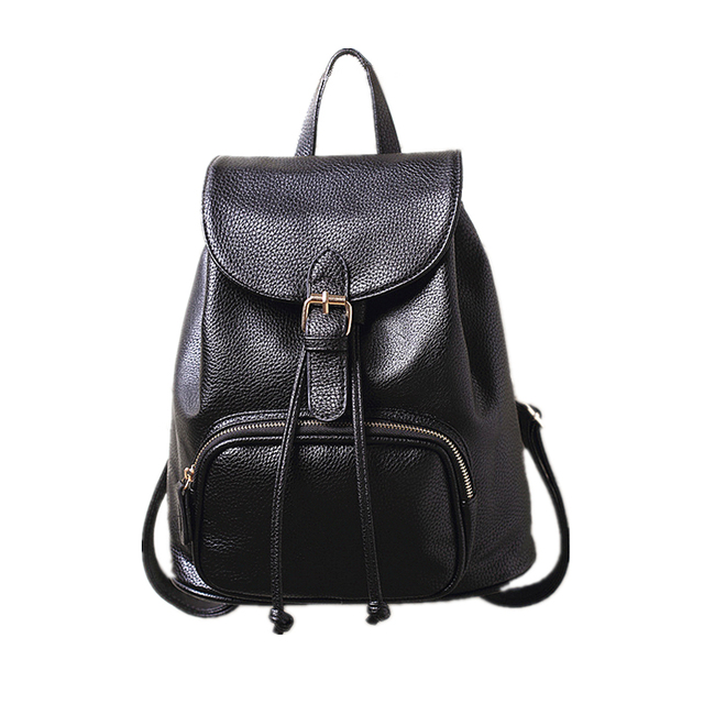 2018 The New Kanken Classic Women Real Leather Backpack Lady Genuine  Leather Backpacks Leather School Bag Mochila Free Shipping 6b6484a74edab