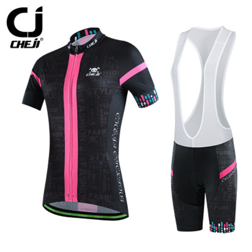 2016 cheji women mtb bike jerseys or bike bib shorts pro
