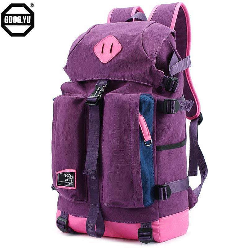 Япония и корейский стиль Мода Большой Ёмкость практичный рюкзак путешествия Для женщин Для мужчин дизайнер drawstring клапаном рюкзак schol мешок